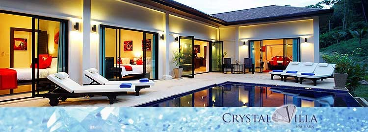 crystal villa luxury holiday rental nai harn phuket