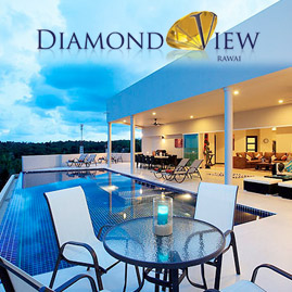 diamond view, nai harn phuket, sleeps 20 with 9 bedrooms and 9 bathrooms