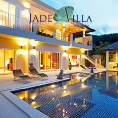 jade villa, nai harn phuket, sleeps 15 with 7 bedrooms and 6 bathrooms
