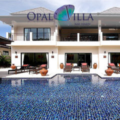 opal villa, nai harn phuket, sleeps 13 with 6 bedrooms and 6 bathrooms