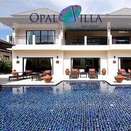 opal villa, nai harn phuket, sleeps 13 with 6 bedrooms and 6 bathrooms