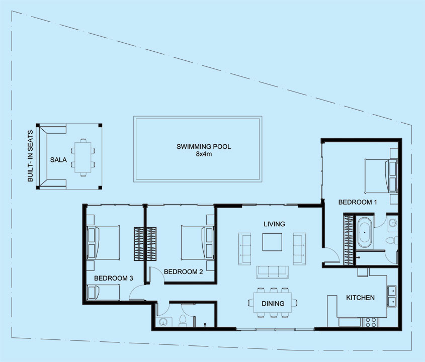 Ruby Villa floor plan