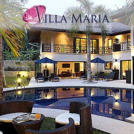 villa maria, nai harn phuket, sleeps 10 with 5 bedrooms and 5 bathrooms