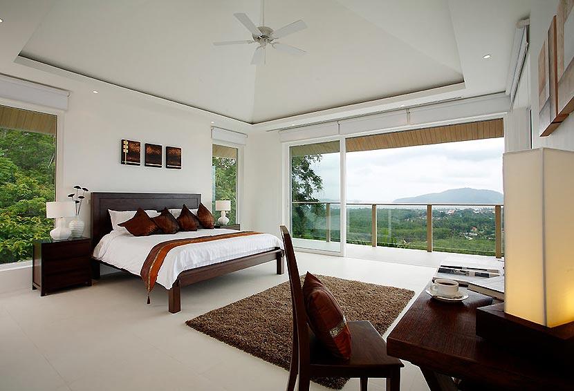 double bedroom with views nai harn phuket holiday rental