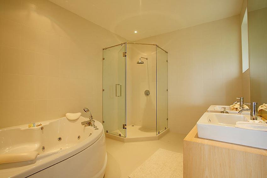 en suite bathroom andaman view rawai phuket holiday rental