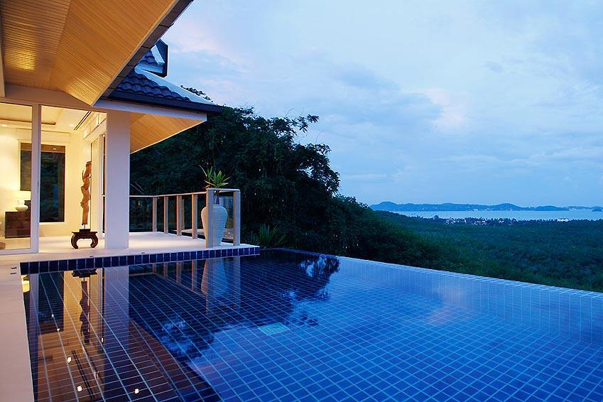 sala and pool infity views nai harn phuket holiday rental
