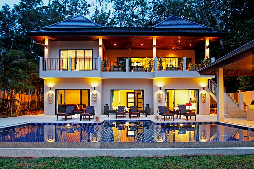 luxury pool dacha coral villa nai harn phuket holiday rental