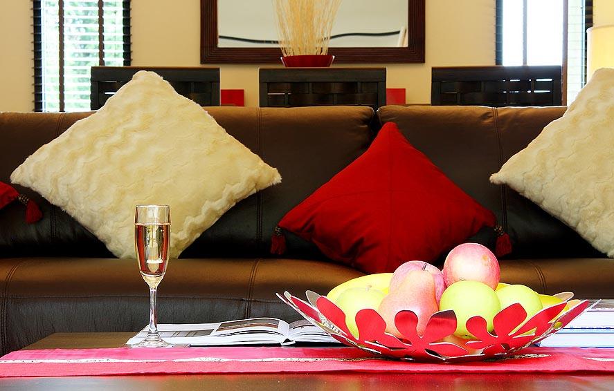 luxury living area crystal villa nai harn phuket holiday rental