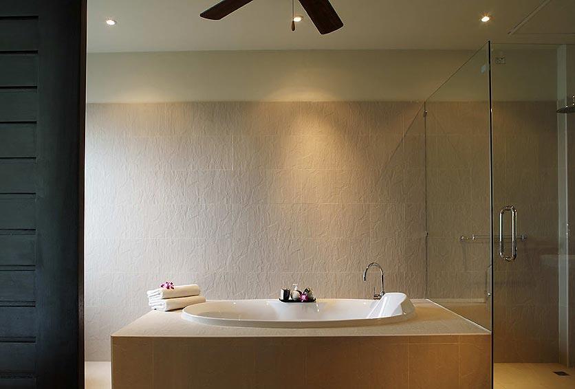 ensuite bath emerald villa nai harn phuket holiday rental