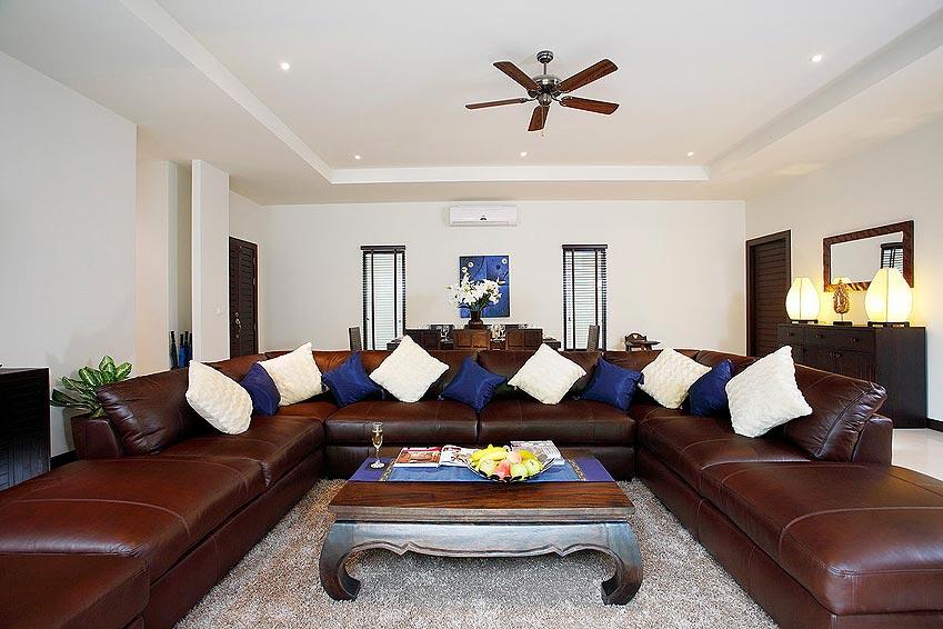 living room gemstone villa nai harn phuket holiday rental