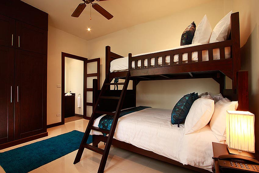 bunk beds gemstone villa nai harn phuket holiday rental