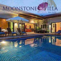 moonstone villa, nai harn phuket, sleeps 10 with 5 bedrooms and 4 bathrooms