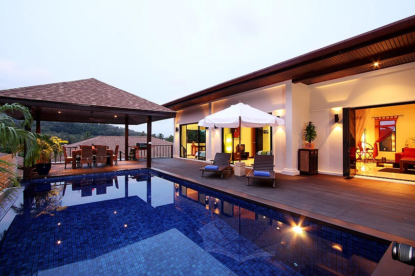 poolside sala moonstone villa nai harn phuket holiday rental