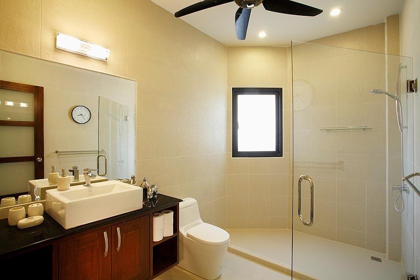 ensuite bathroom onyx villa nai harn phuket holiday rental