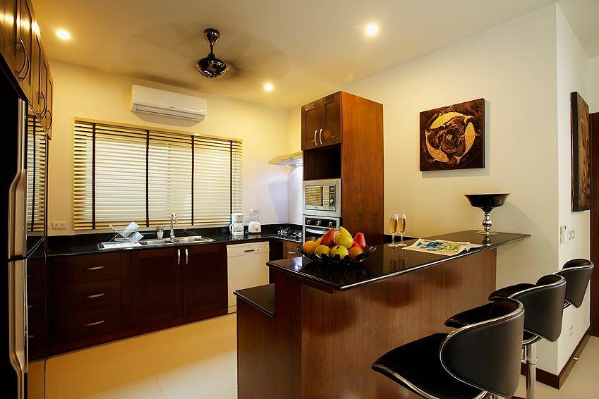 western kitchen onyx villa nai harn phuket holiday rental