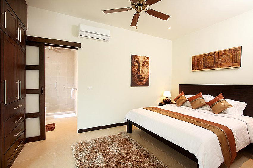 double bed opal villa nai harn phuket holiday rental