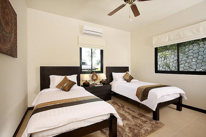 twin bedroom opal villa nai harn phuket holiday rental