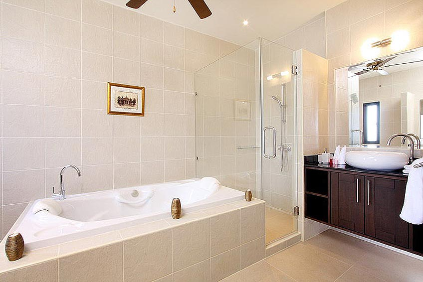 bath tub ensuite opal villa nai harn phuket holiday rental