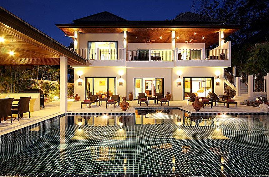 sundeck poolside opal villa nai harn phuket holiday rental