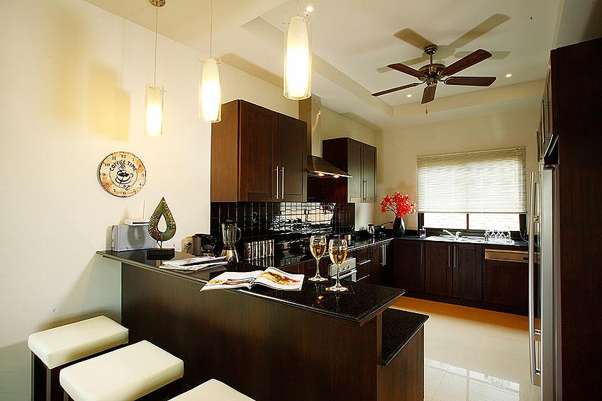 fully equipped western kitchen pearl villa nai harn phuket holiday rental