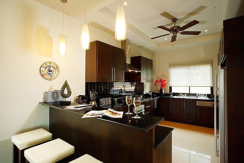 fully equipped western kitchen pearl villa nai harn phuket holiday rental