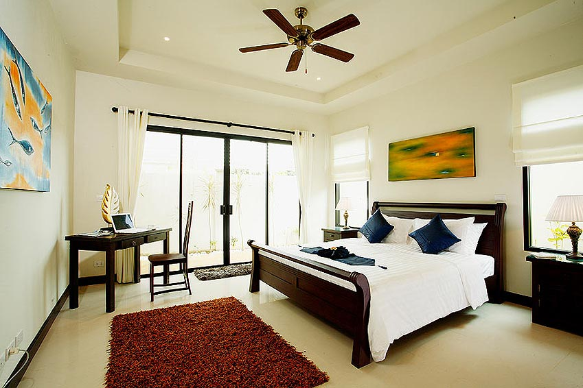 double bedroom poolside pearl villa nai harn phuket holiday rental