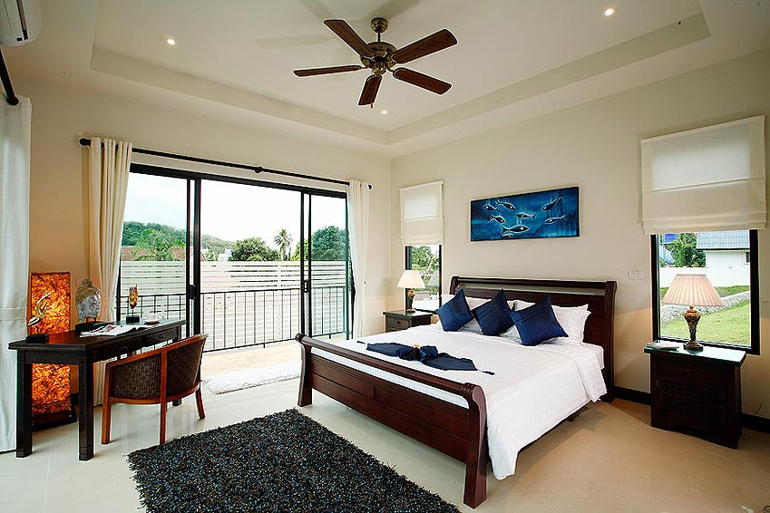 double poolside room pearl villa nai harn phuket holiday rental