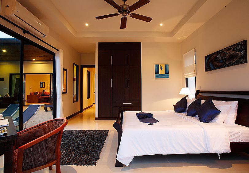 double ensuite room pearl villa nai harn phuket holiday rental