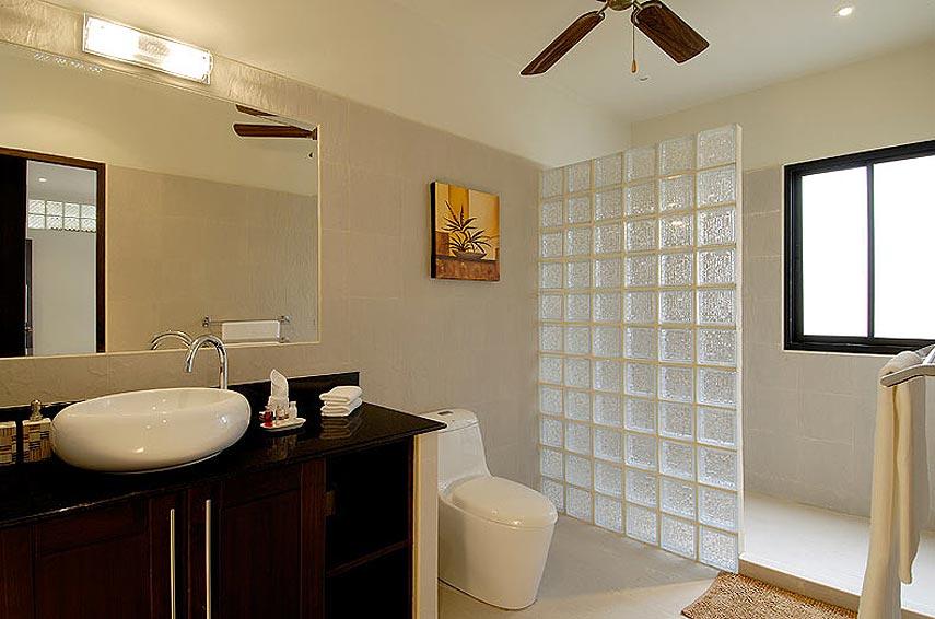 ensuite wc shower xpearl villa nai harn phuket holiday rental