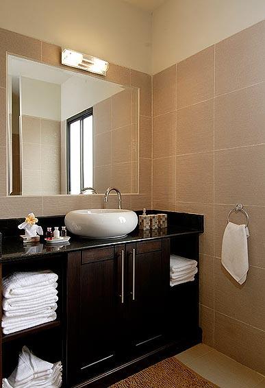 ensuite bathrooms pearl villa nai harn phuket holiday rental