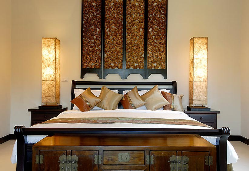 double bed sapphire villa nai harn phuket holiday rental