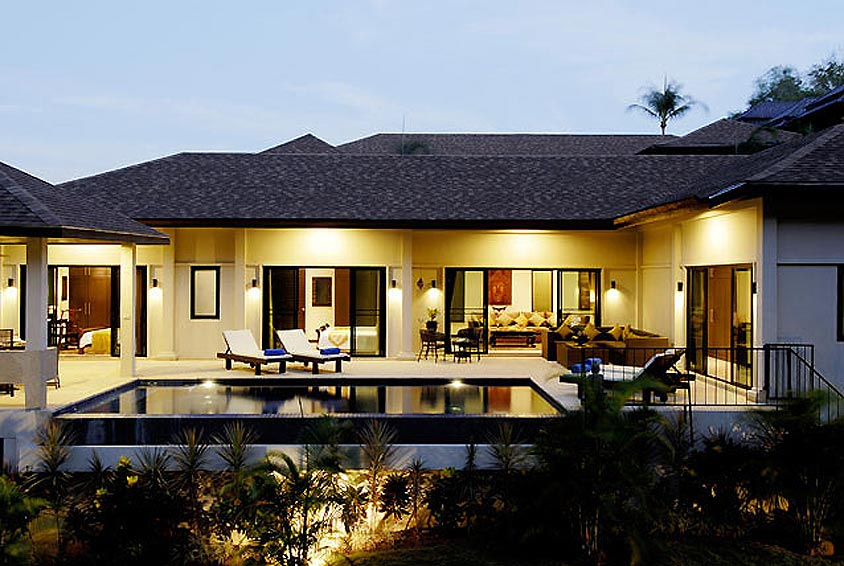 infinity pool sapphire villa nai harn phuket holiday rental