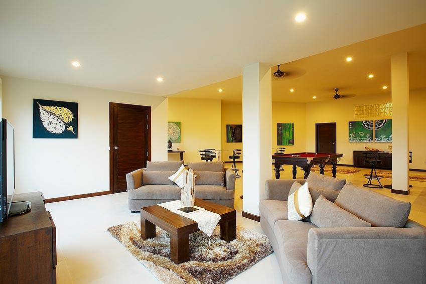 indoor living area turquoise villa rawai phuket holiday rental