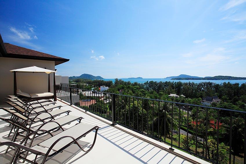 rooftop sunbathing turquoise villa rawai phuket holiday rental