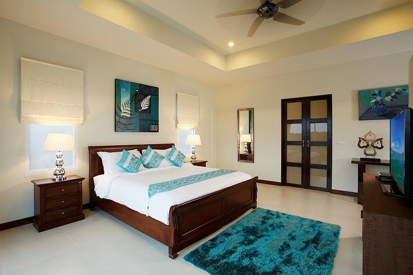 double bedroom turquoise villa rawai phuket holiday rental