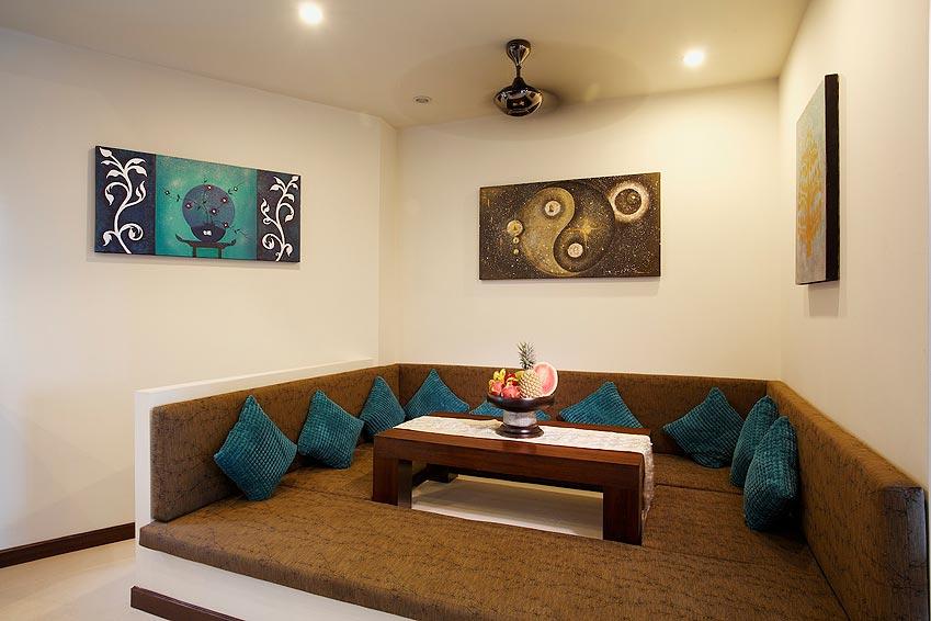 thai seating area turquoise villa rawai phuket holiday rental