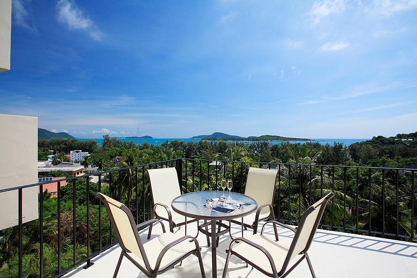 rooftop balcony panoramic views turquoise villa rawai phuket holiday rental