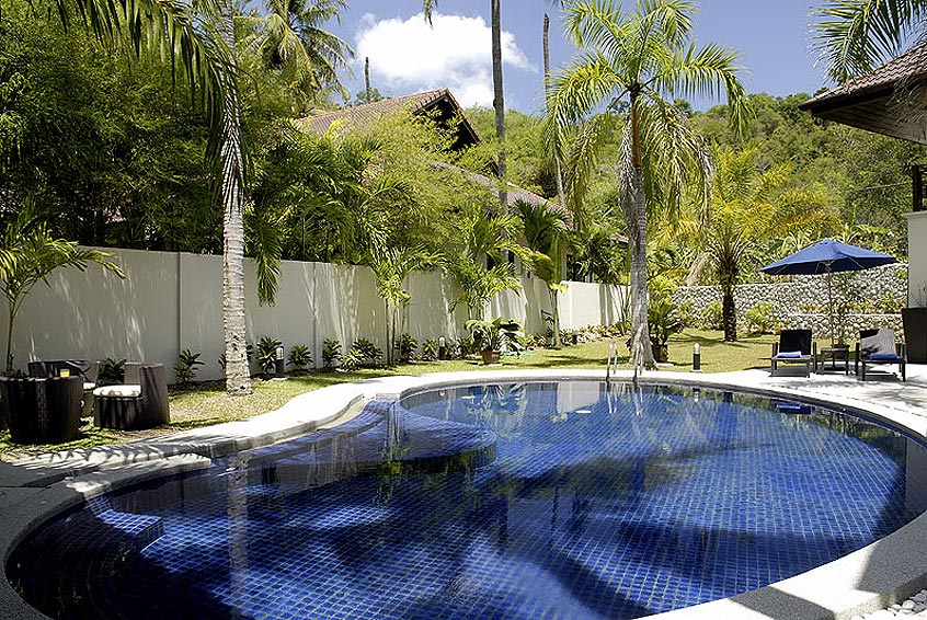 pool and gardens villa maria nai harn phuket holiday rental