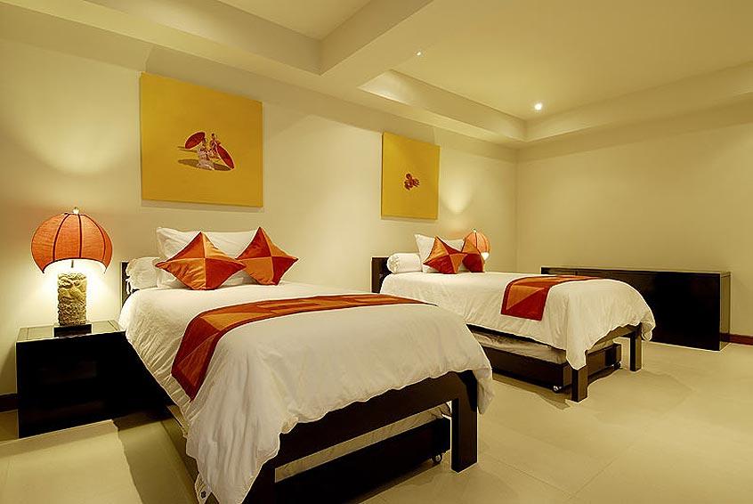 twin bedroom villa maria nai harn phuket holiday rental