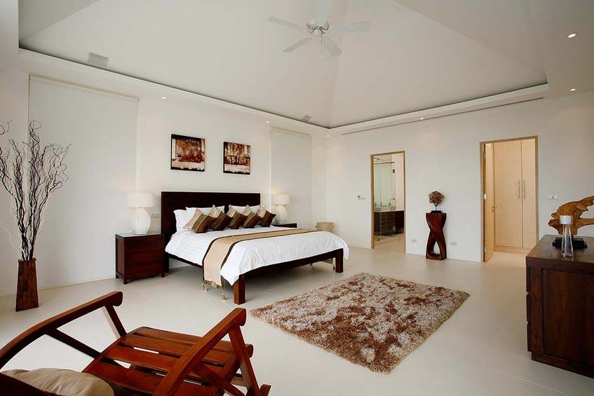 andaman view villa nai harn phuket holiday rental master bedroom