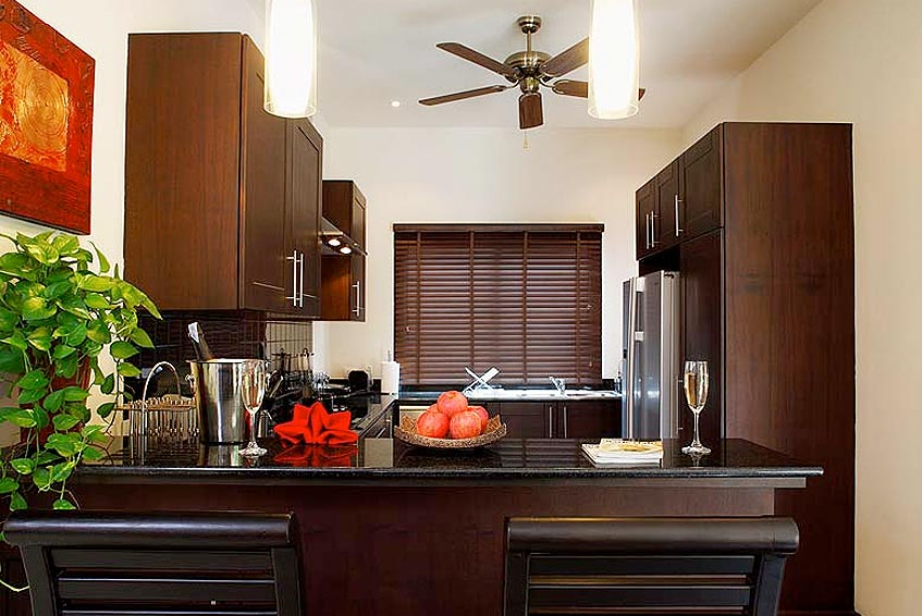 crystal villa nai harn phuket holiday rental fully fitted western kitchen