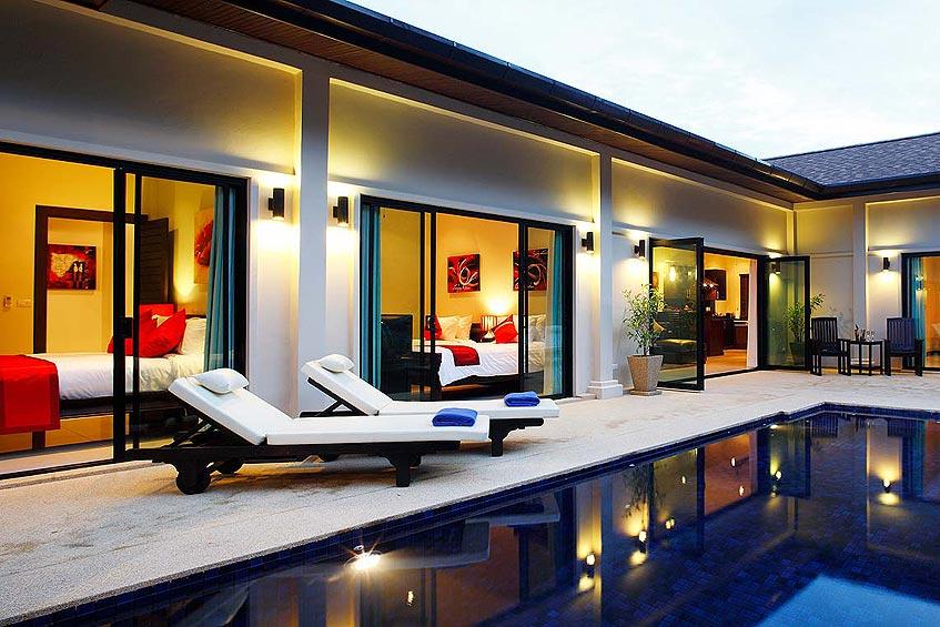 crystal villa nai harn phuket holiday rental poolside sun deck