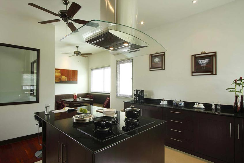 emerald villa nai harn phuket holiday rental fully fitted western kitchen