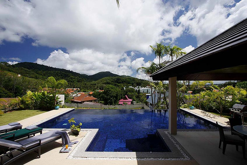 emerald villa nai harn phuket holiday rental pool views