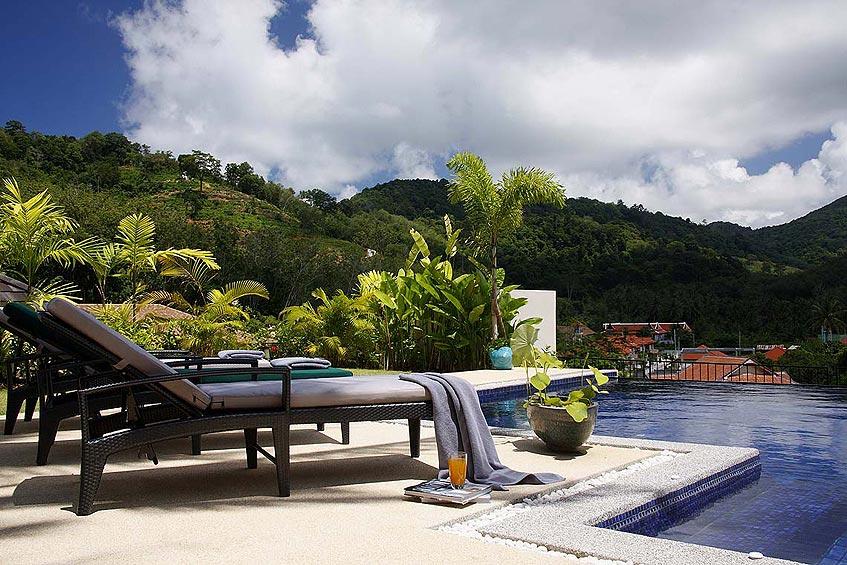 emerald villa nai harn phuket holiday rental sundeck tanning