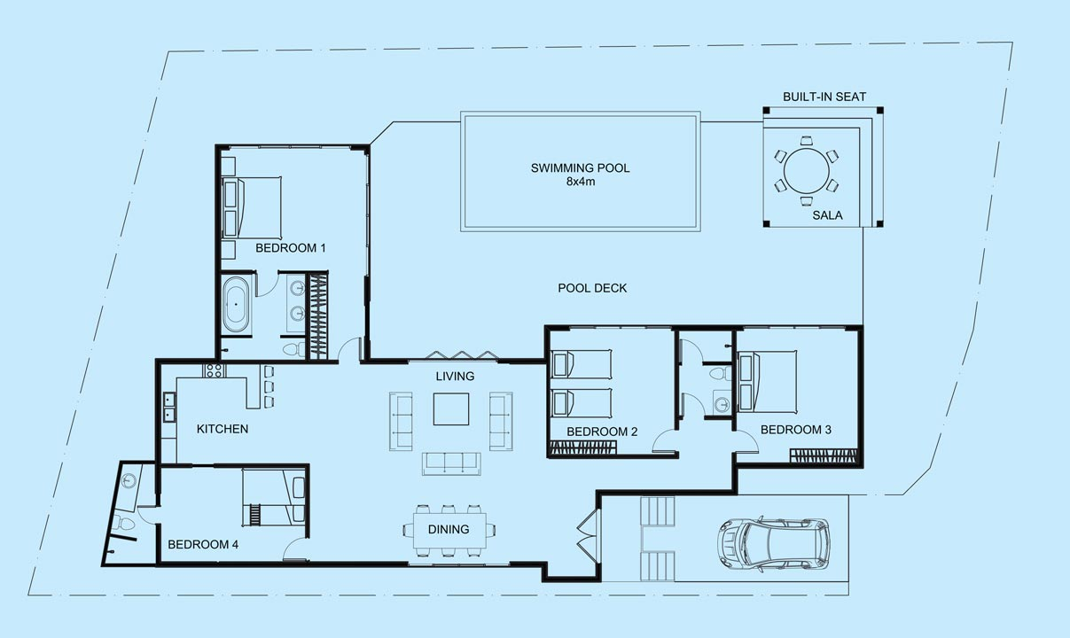Gemstone Villa floor plan