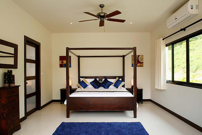 gemstone villa nai harn phuket holiday rental 4 poster fourposter bed en suite