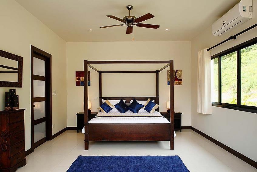 gemstone villa nai harn phuket holiday rental 4 poster fourposter bed en suite
