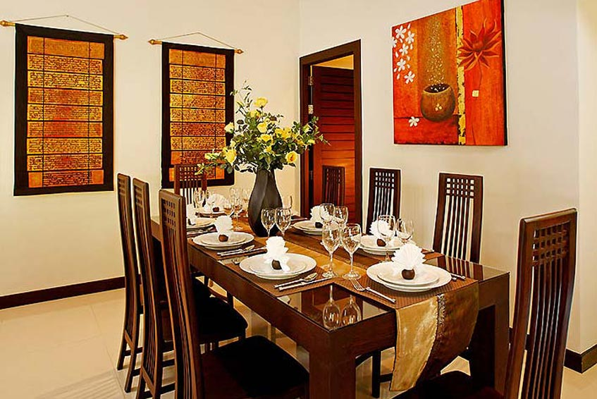 sapphire villa nai harn phuket holiday rental indoor dining