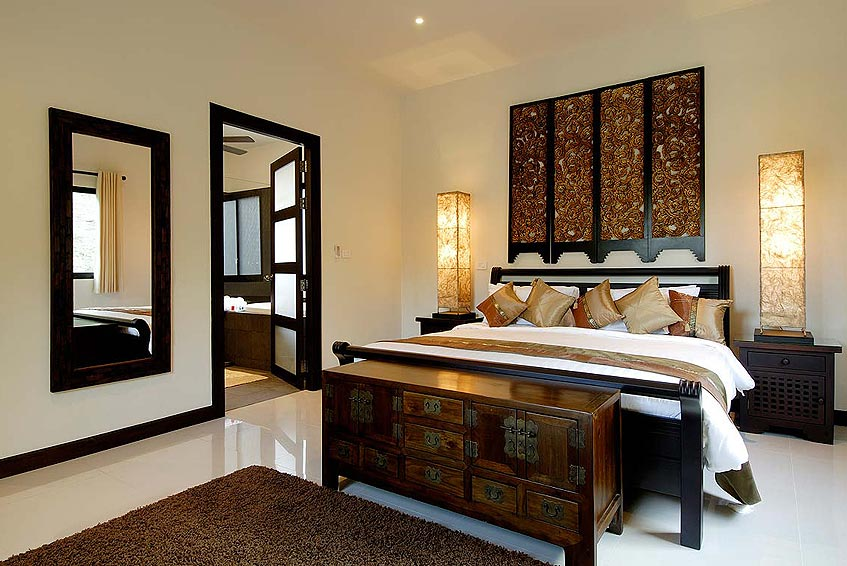 sapphire villa nai harn phuket holiday rental double bedroom ensuite bathroom